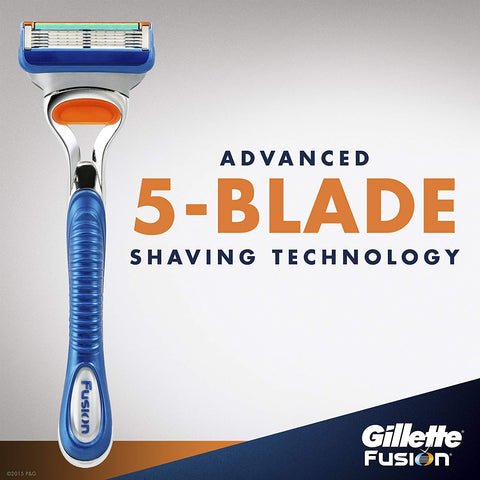 Gillette Fusion Manual Men's Razor Blade Refills - AVM