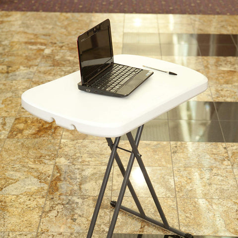 Image of Adjustable Folding Laptop Table - AVM