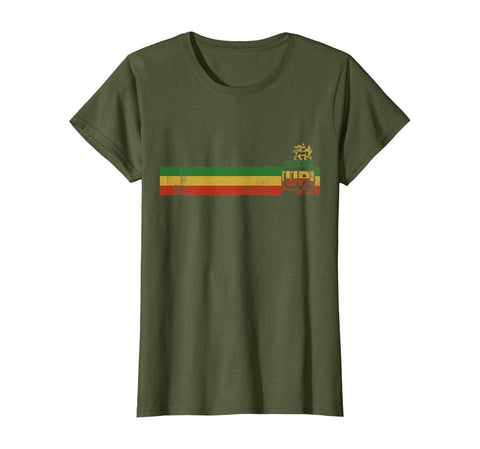 Bless up Jamaican Roots Rock Reggae T-Shirt - AVM