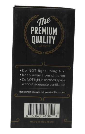 King Fire All Natural Charcoal - AVM