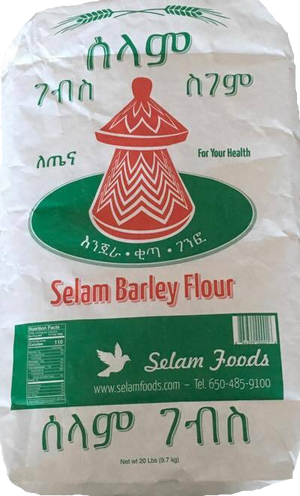 Selam Barley Flour,Great source of dietary fiber, potassium, calcium, and other important nutrients - AVM