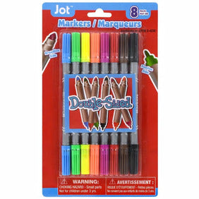 Jot Double-Sided Fineline/Broadline Washable Markers- 2 pack - AVM