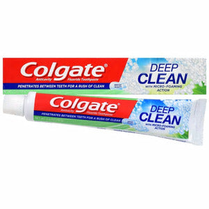 Colgate Deep Clean Toothpaste with Brisk Mint Flavor- 2 pack - AVM