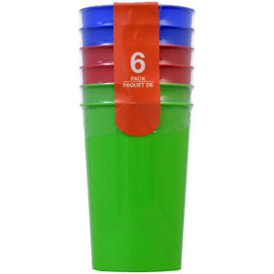Plastic Tumblers, 3-ct. Packs TD14