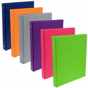 Jot Colorful 3-Ring Binders- 3 count - AVM
