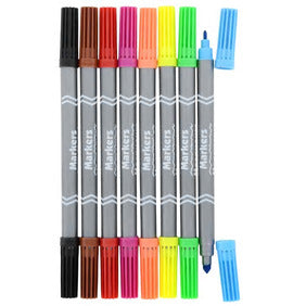 Image of Jot Double-Sided Fineline/Broadline Washable Markers- 2 pack - AVM
