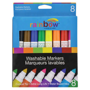 Rainbow Washable Markers - AVM