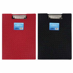 Colorful Plastic Folder Clipboards- 2 count