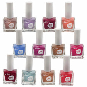 Kiss Gel Strong Nail Polish- 6 count - AVM
