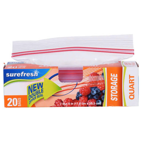 Image of Zipper Snack Bags, 2 Pack - AVM