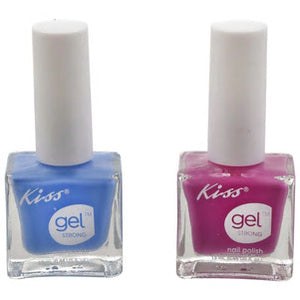 Kiss Gel Strong Nail Polish- 6 count