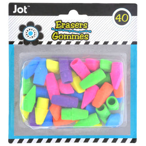 Bright Pencil-Topper Erasers - AVM