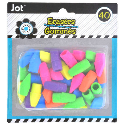 Image of Bright Pencil-Topper Erasers - AVM