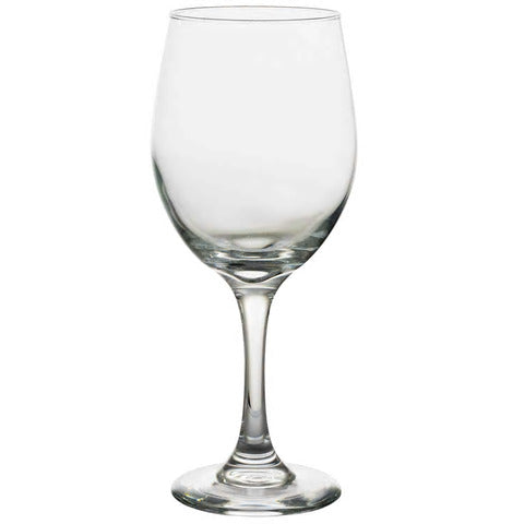 DT9- Clear Oliver Glass Water Goblets