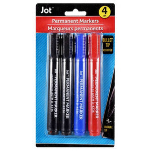 Jot Assorted Permanent Markers TD44