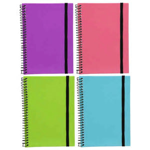 Jot Hard Cover Spiral Notebooks- 4 count