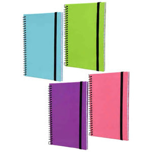 Jot Hard Cover Spiral Notebooks- 4 count - AVM