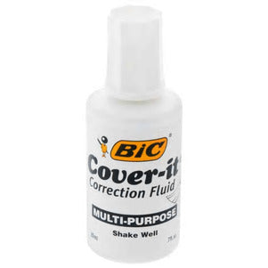 Bic Cover-It Correction Fluid D20 - AVM