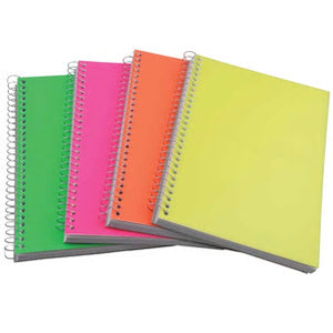 Jot Neon Spiral Notebooks- 4 count - AVM