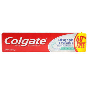 Colgate Whitening Frosty Mint Stripe Gel Toothpaste with Baking Soda and Peroxide D20 - AVM