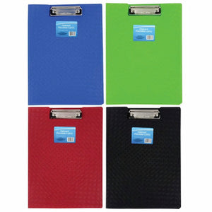 Colorful Plastic Folder Clipboards- 2 count - AVM