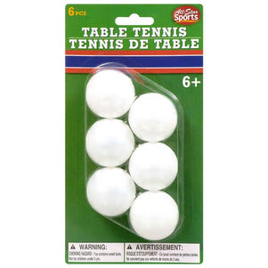 Image of All-Star Sports Plastic Table Tennis Balls TD66