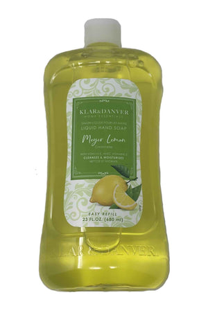 Klar & Danver Lemon Delicious Liquid Hand Soap- 1 count - AVM