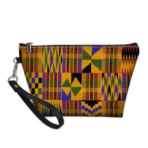 Afrikan Style Women Toiletry Cosmetic Bag - AVM