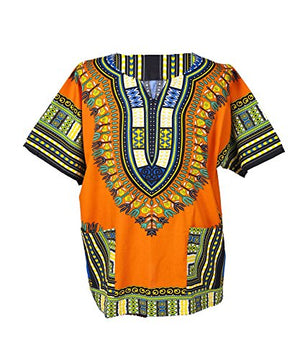 Traditional Afrikan Unisex Dashiki Shirt - AVM