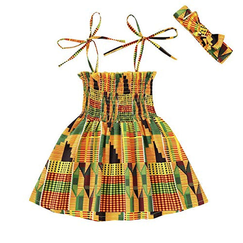 Afrikan Print Clothes Dashiki Style Outfit for girls - AVM