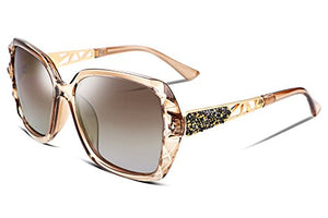 Women Sunglasses Sparkling Composite Frame