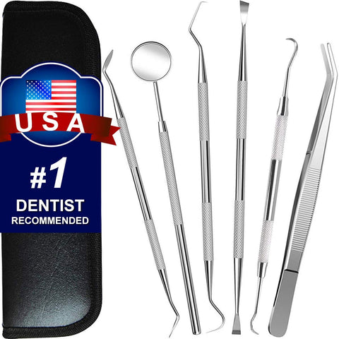Image of 6 Pack Teeth Cleaning Tools - AVM