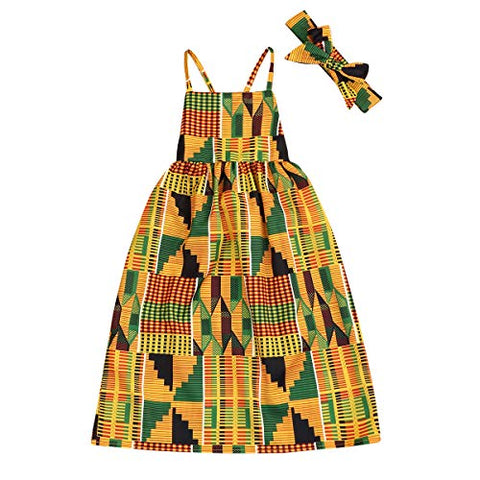 Image of Afrikan Print Clothes Dashiki Style Outfit for girls - AVM
