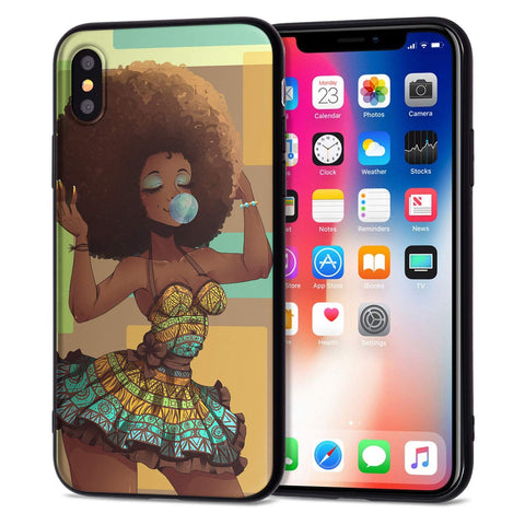 Image of Beautiful Afrikan iPhone XR Cases - AVM
