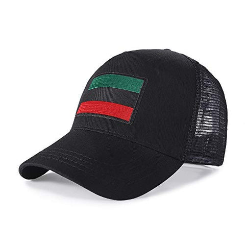 Image of Fashion Hat with pan Afrikan Flag