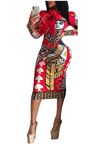 Dashiki Afrikan Women Club Dress - AVM