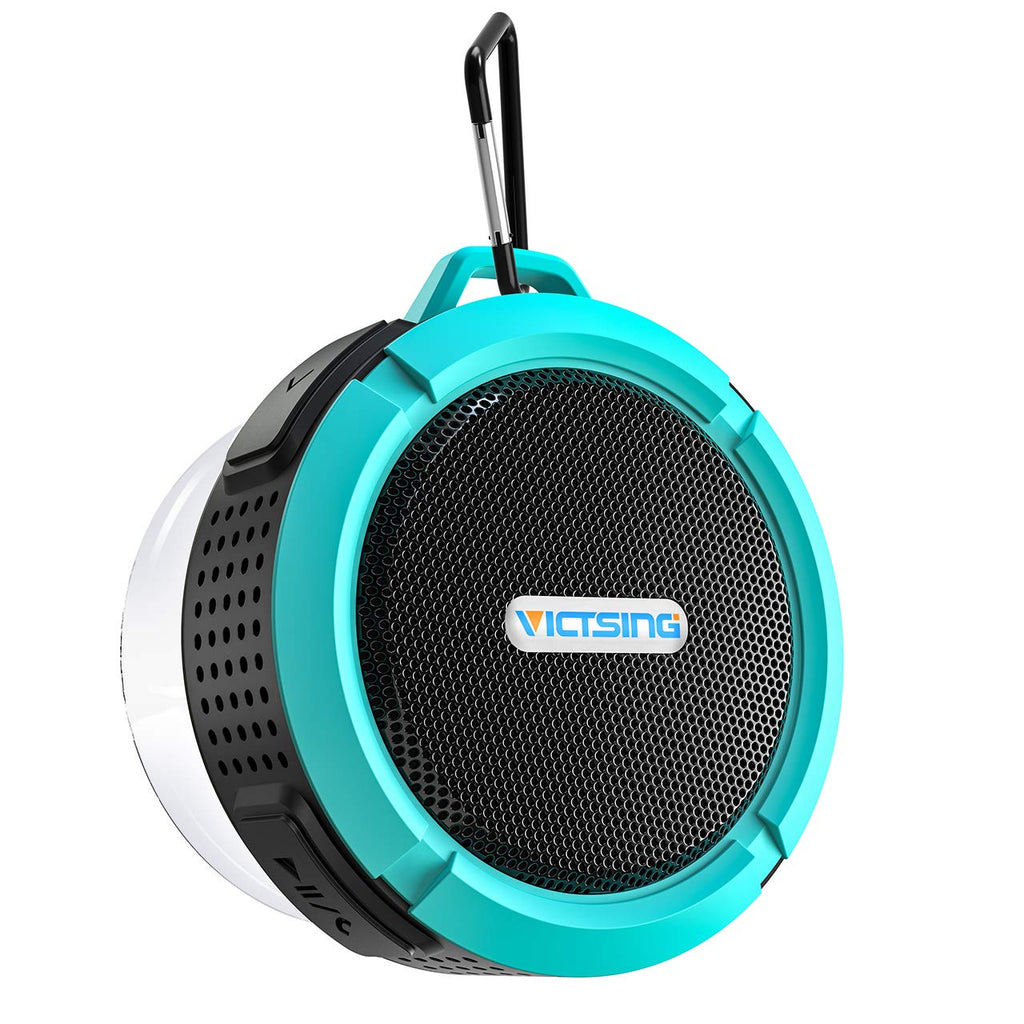 Loud Waterproof Portable Bluetooth Speaker with 6 Hour Playtime, Compatible with IOS, Android, PC, Pad