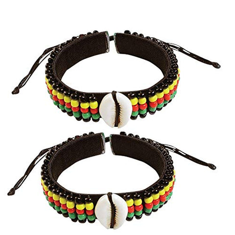 Image of Adjustable Length Afrikan Bracelets and Necklaces for Men Women