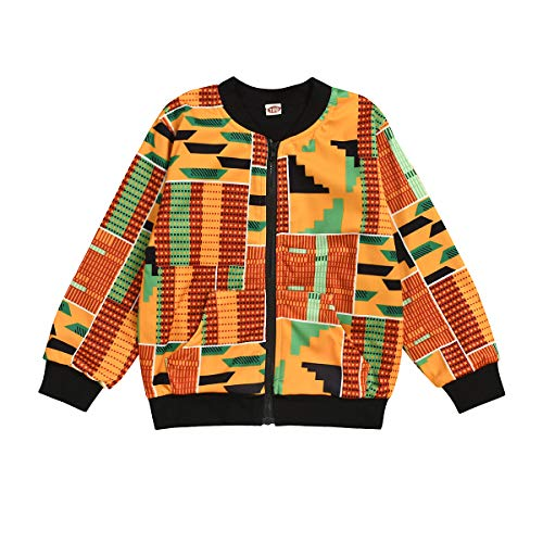 Baby's Dashiki Afrikan Print Jacket and Skirt - AVM