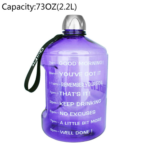 Motivational 1 Gallon Water Bottle - AVM