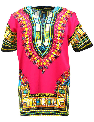Dashiki Shirt Tribal Afrikan Unisex T-Shirt - AVM