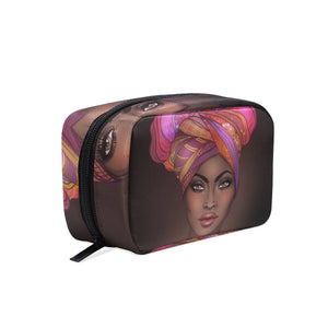 Afrikan Woman Toiletry Bag Organizer Accessories Case