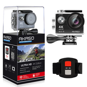 4K Ultra HD Waterproof 170 Degree Wide Angle camera