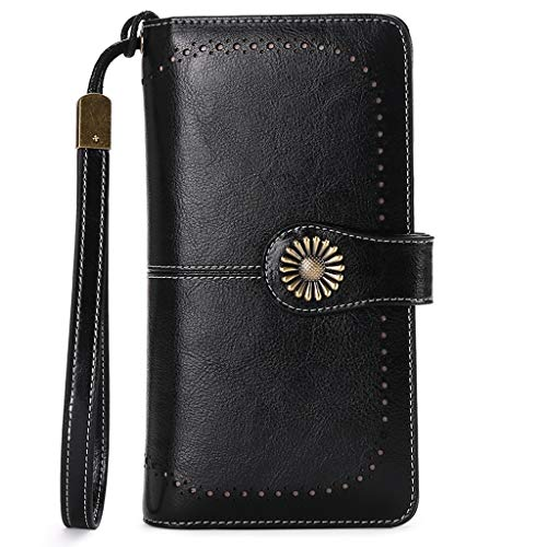 Women's Wallets, Large Capacity with RFID Protection - AVM