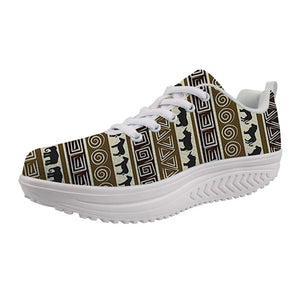 Vintage Afrikan Swing Sneakers for Women A134
