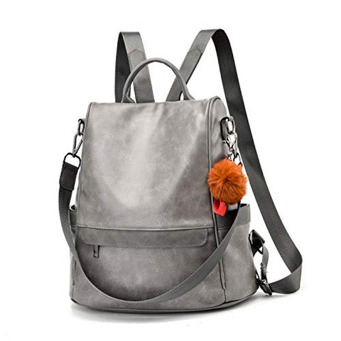 Image of Women Backpack Purse PU Leather - AVM