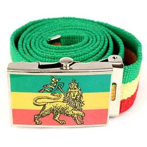 Rastafarian Belt with Custom Stylish Buckle - AVM