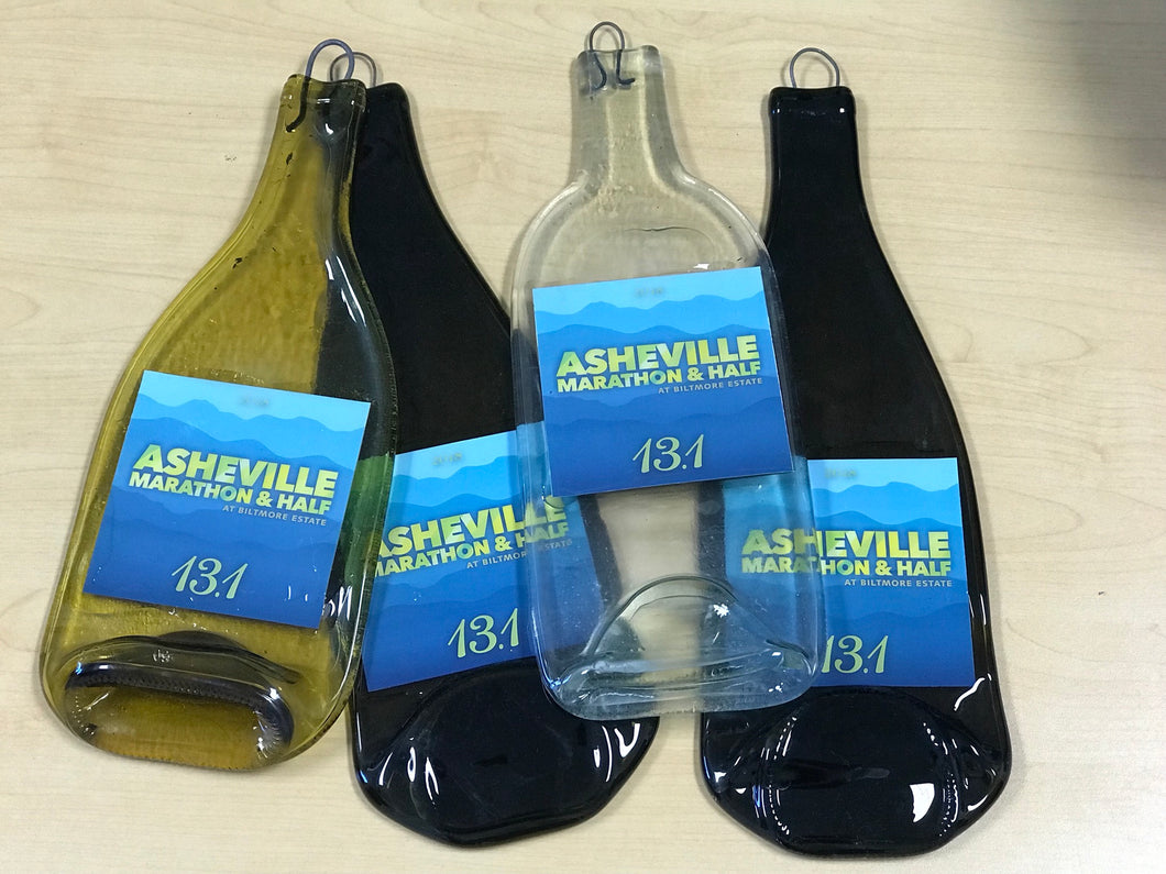 Asheville Half Marathon Commemorative Keepsake