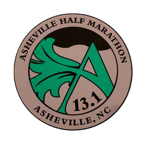 Asheville Half Sticker 13.1 for web2
