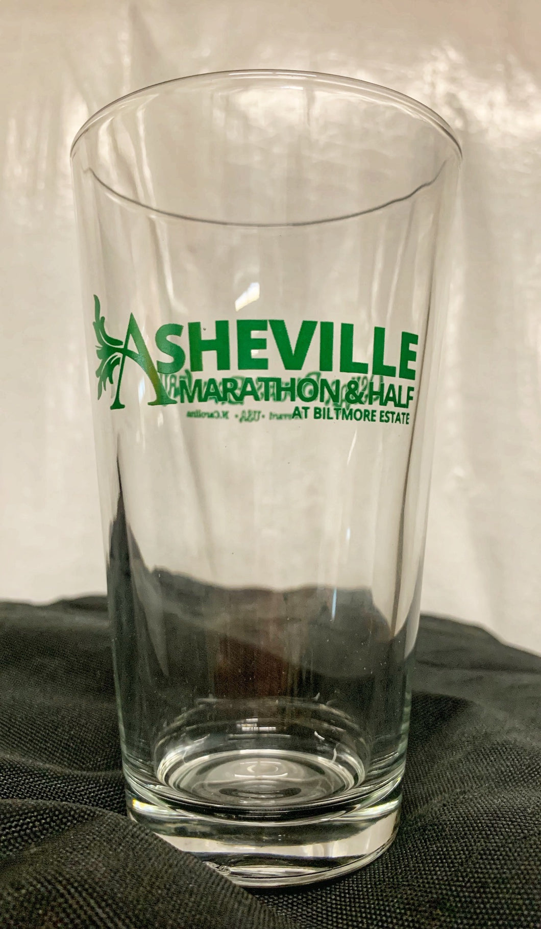 Asheville Marathon & Half Pint Glass